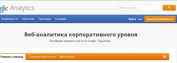 Voiti Google Analytics