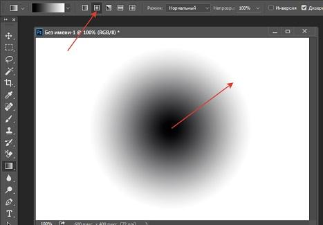 The circular gradient